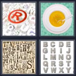 4 fotos 1 palabra 8 letras letra R