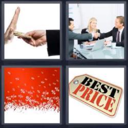 4 fotos 1 palabra 8 letras oficina etiqueta best price