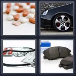 4 fotos 1 palabra 8 letras medicamentos carro o coche