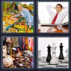 wow ajedrez mujer comprando hombre oficina