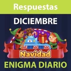 Enigma diario Diciembre