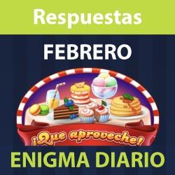 Enigma diario Febrero