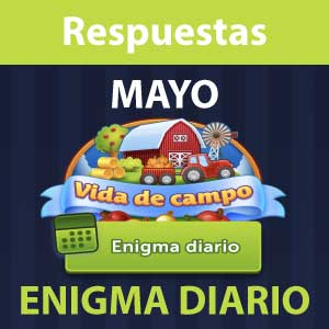 Enigma diario Mayo