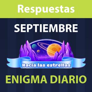Enigma diario Septiembre 2021